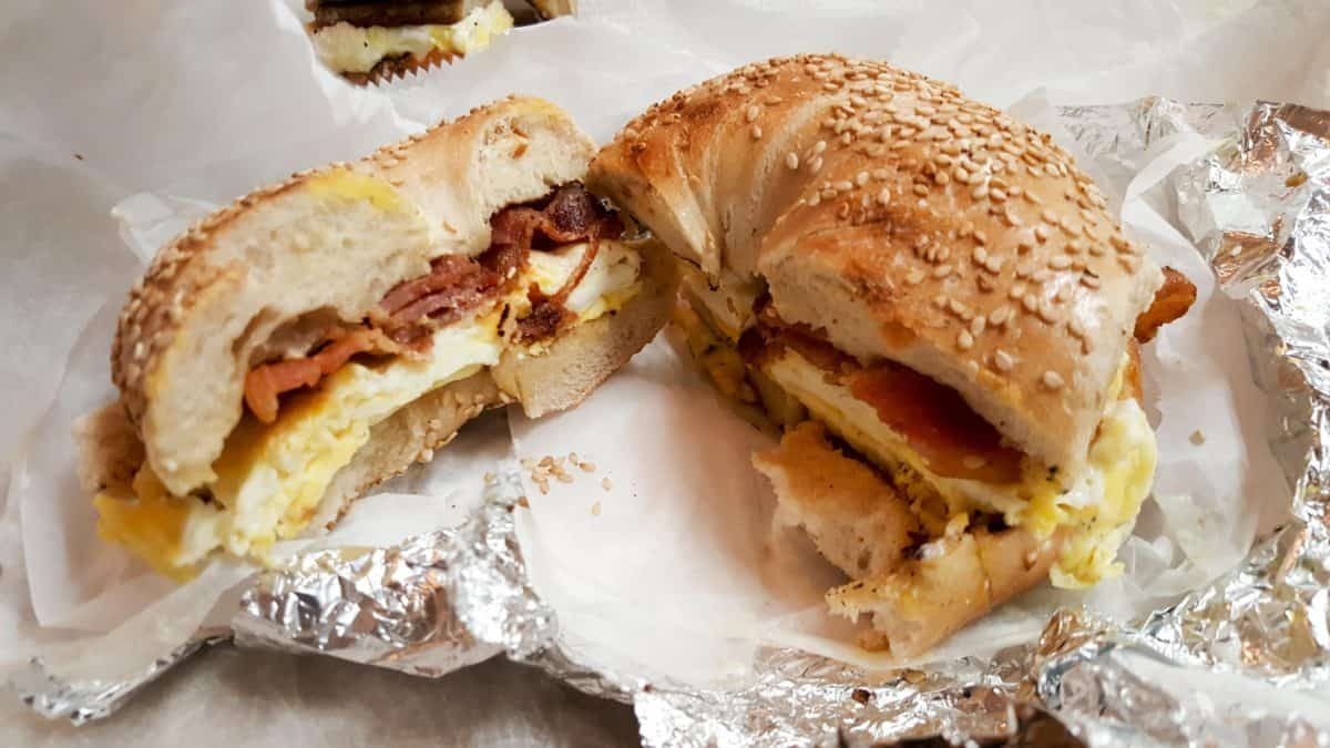 Pick-a-Bagel is a Must Eat in New York