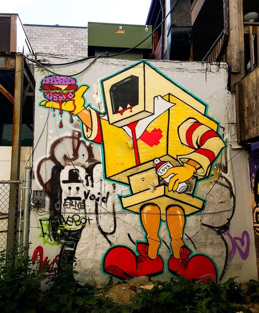 Exploring Toronto's Graffiti Alley