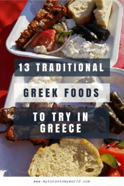 Greek Foods to try in Greece