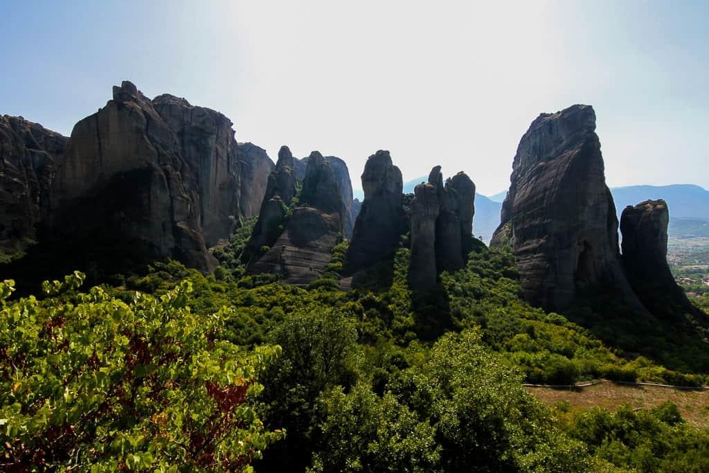 views from Meteora Monasteries