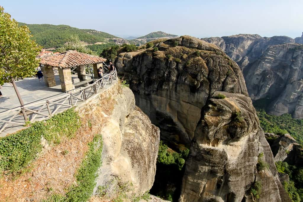 Views from the Great Meteoron Monastery