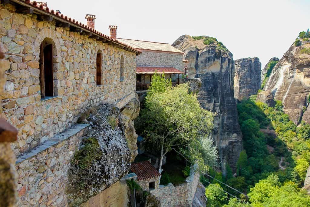 Views from Varlaam Monastery