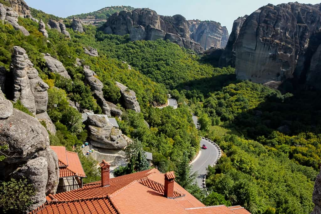 Views from the Holy Monastery of Rousanou