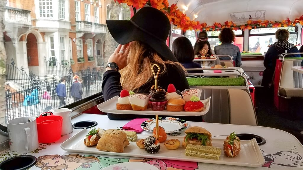 Afternoon Tea Bus Tour