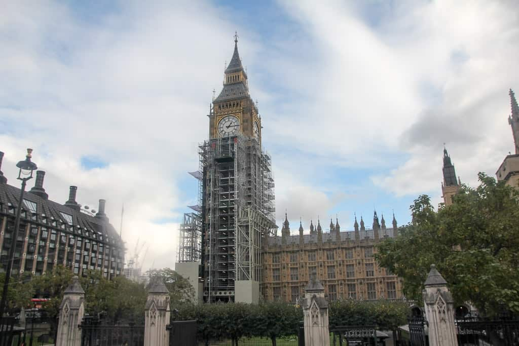Big Ben on the Afternoon Tea Bus Tour