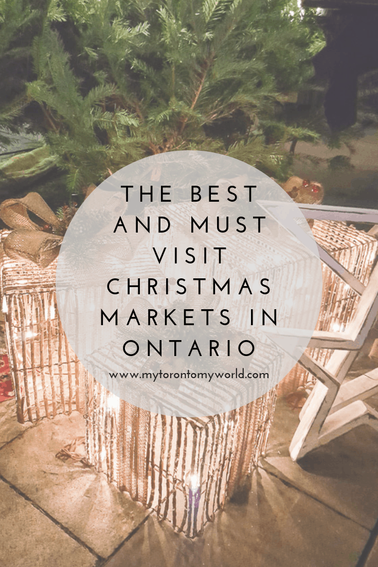 14 Of The Best Ontario Christmas Markets You Have to Visit #ontario #canada #christmasmarkets