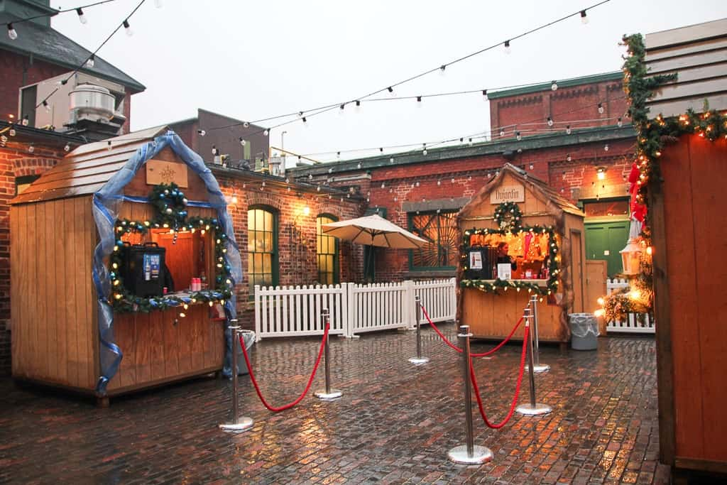 Drink Stations that are part of the Toronto Christmas Market