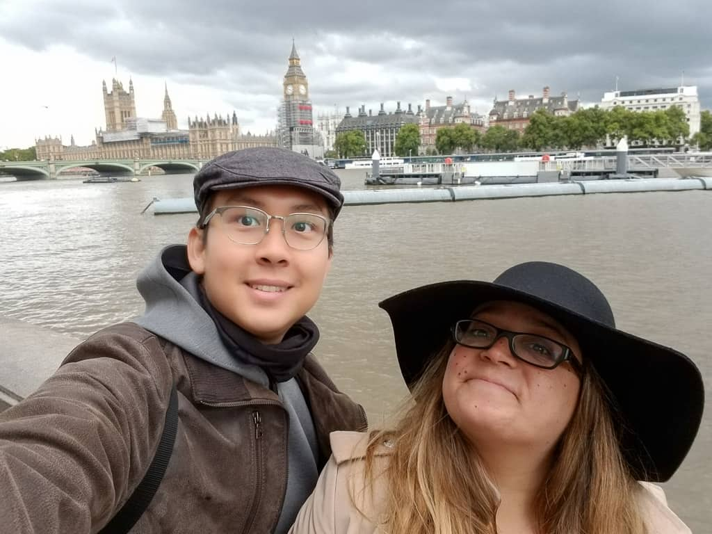 London was a favorite travel moment
