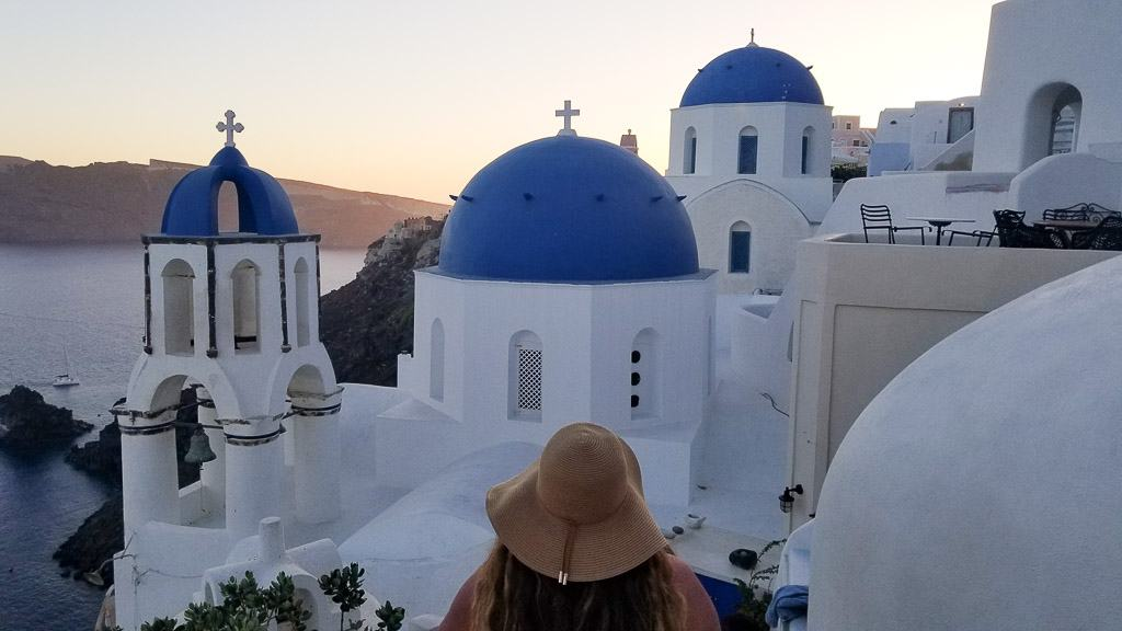 Santorini was one of my favorite travel moments