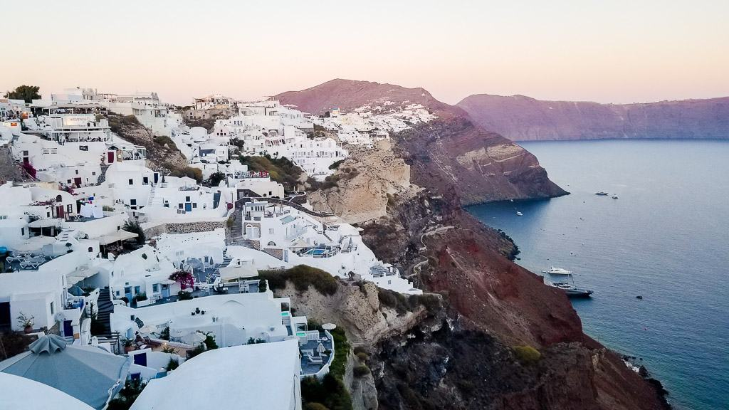 exploring oia is one of the things to do in santorini