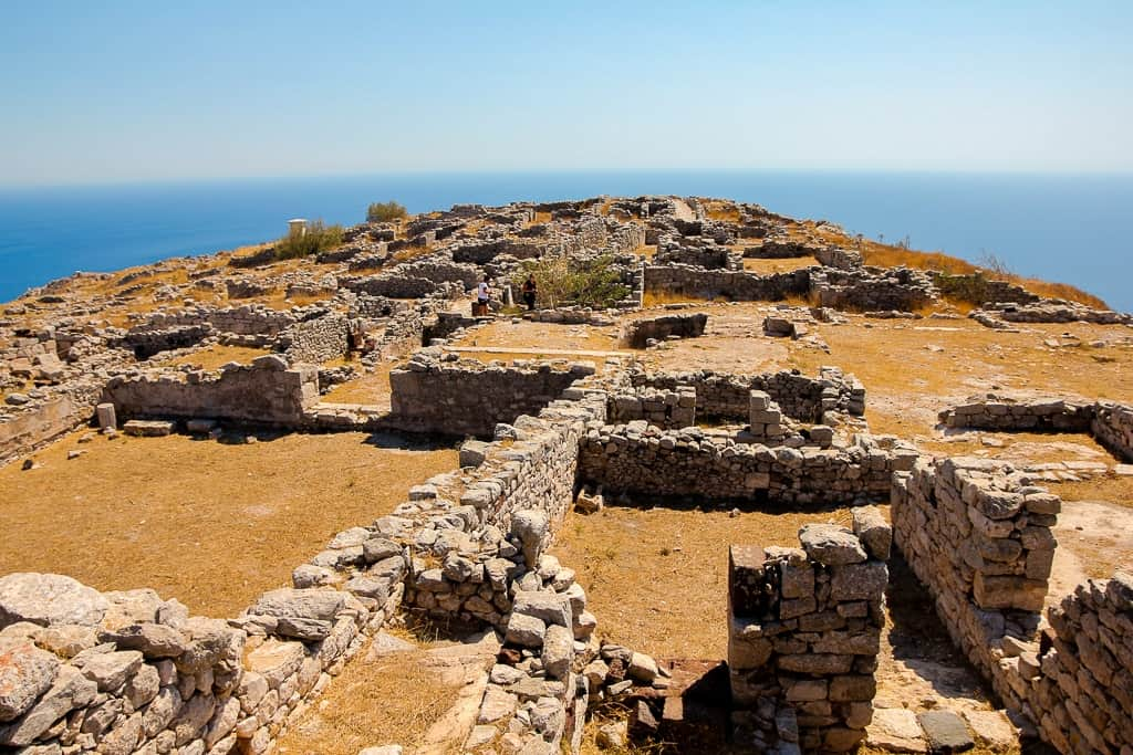 ancient thera is one of things to do in santorini