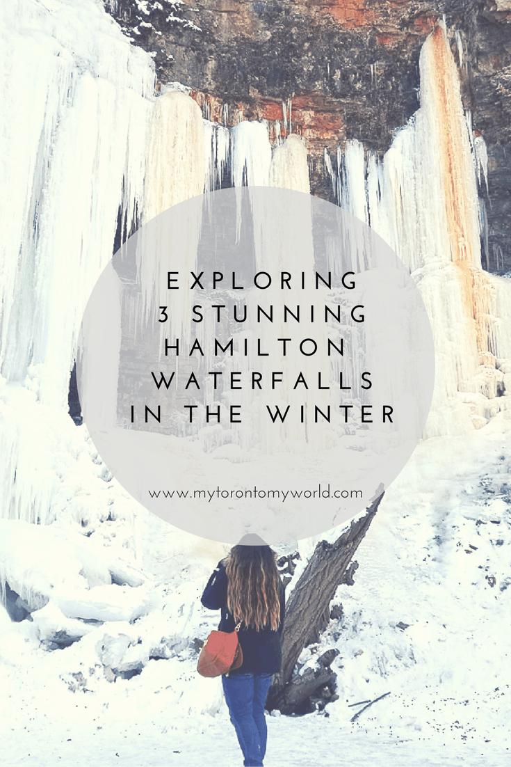 exploring 3 stunning hamilton waterfalls in winter
