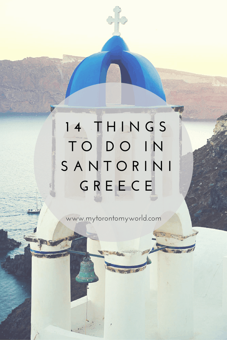 14 Things To Do in Santorini