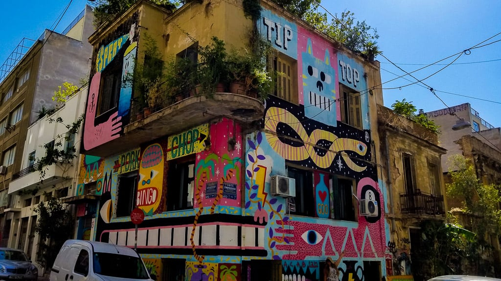 Discovering Amazing Street Art in Athens