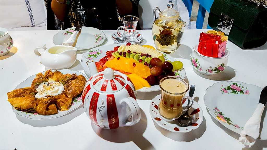 The Arabian Tea House is one of the places to eat in Dubai