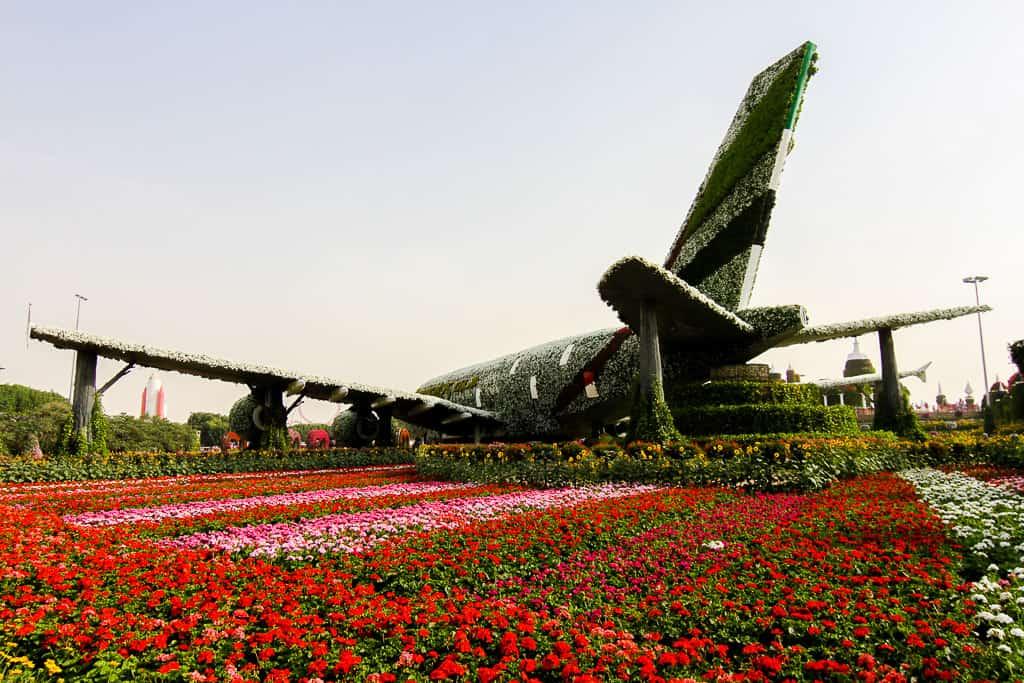 Emirates Airplane Display