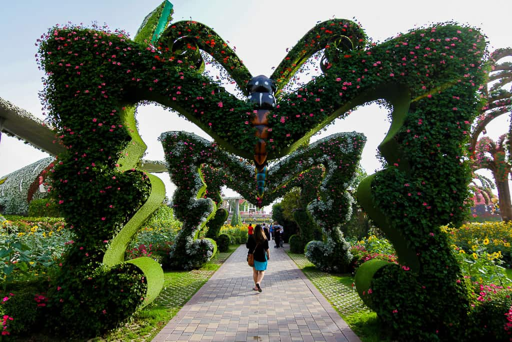 Visiting the Dubai Miracle Garden + 25 Pictures That'll Inspire Your Visit
