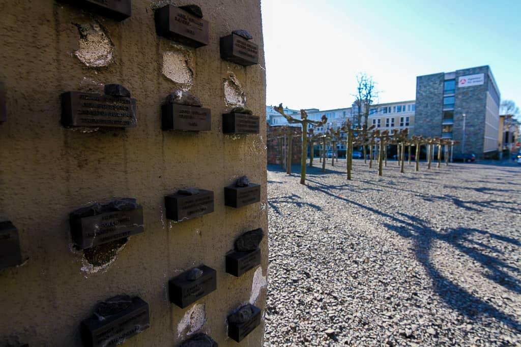 The Jewish Memorial Wall