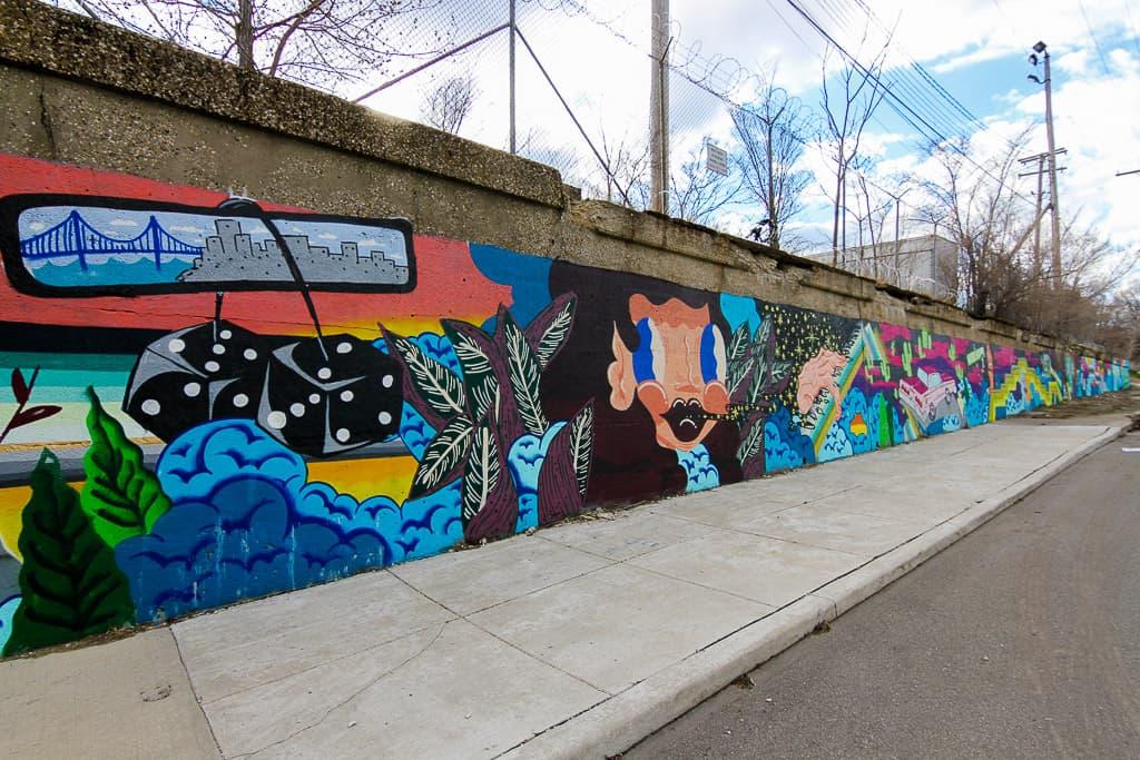 Chasing Street art in Detroit