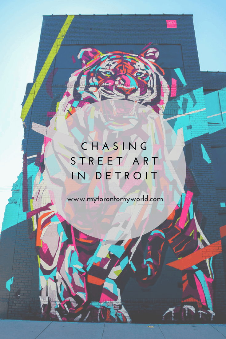 Chasing Street art in Detroit, Michigan, United States.