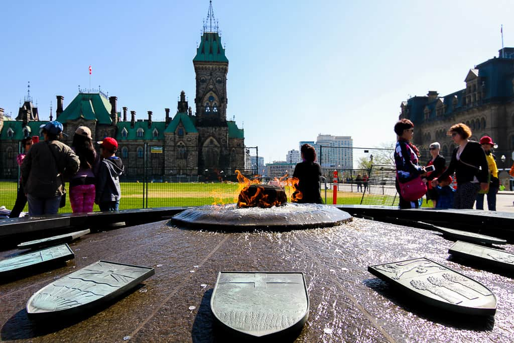 The Centennial Flame