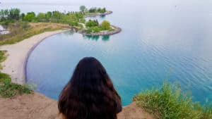 The views of Scarborough Bluffs