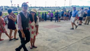Attending the Queen's Plate