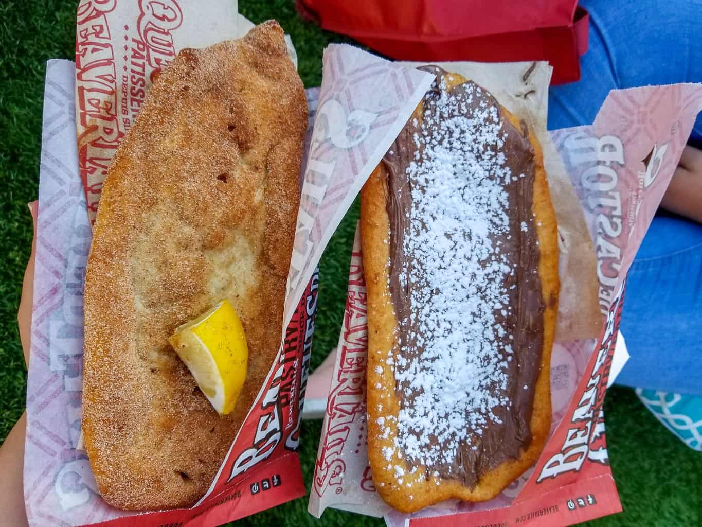 Eating Beavertails is one of the reasons to visit Canada
