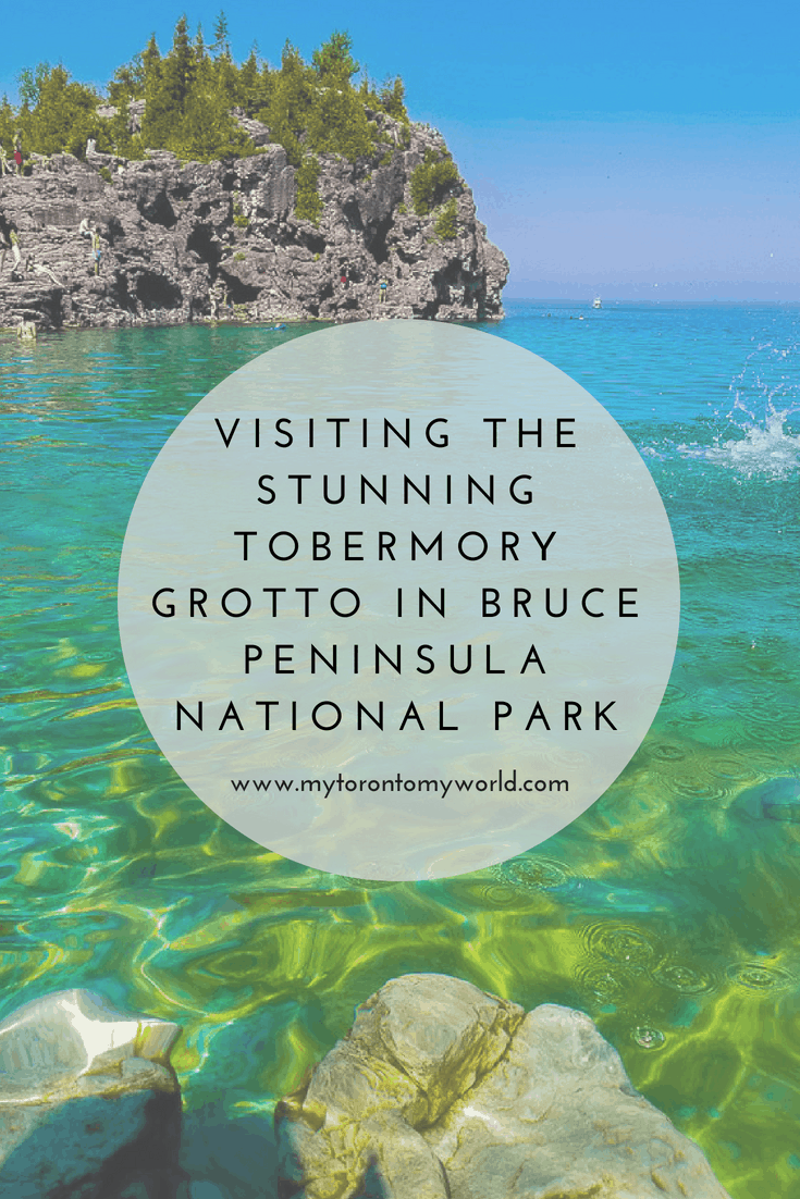 Visiting the Stunning Tobermory Grotto in Bruce Peninsula National Park in Ontario, Canada