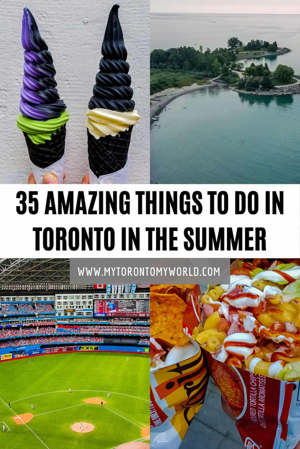 Toronto in the summer