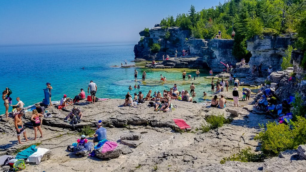 The Tobermory Grotto