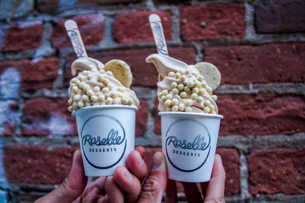 Roselle Desserts is one of the places to get the best ice cream in Toronto
