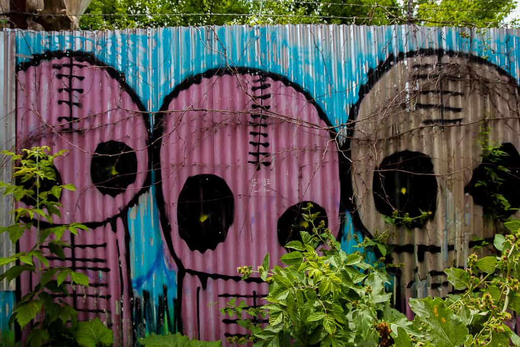 Exploring the Milky Way Toronto Street Art
