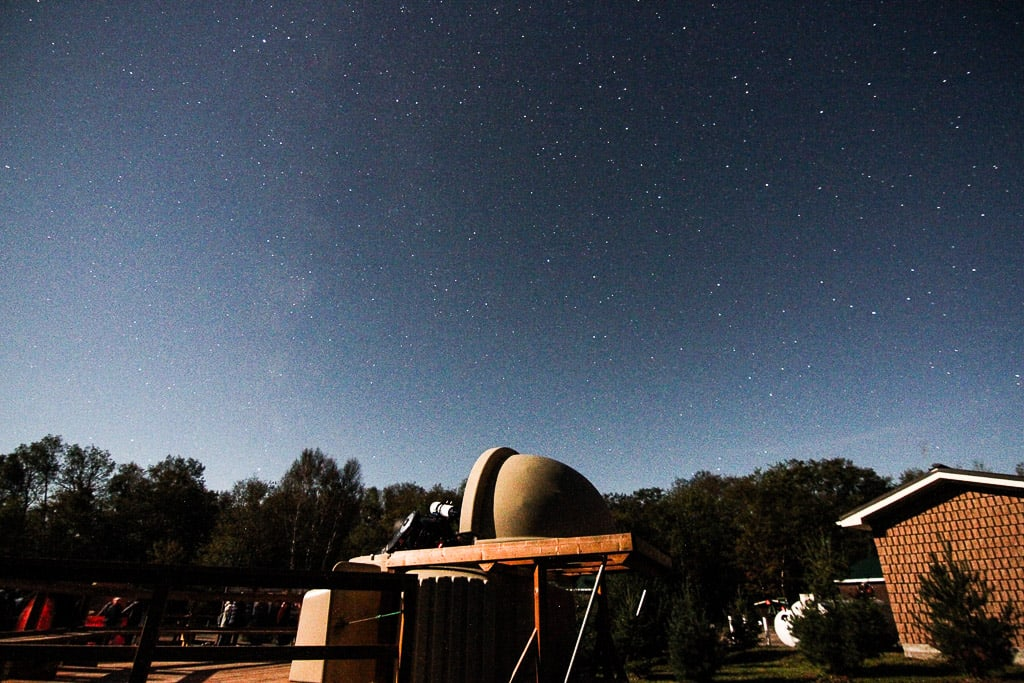 The Perfect Itinerary for Stargazing in Ontario Parks' First Dark Sky Preserve at Killarney Provincial Park Observatory