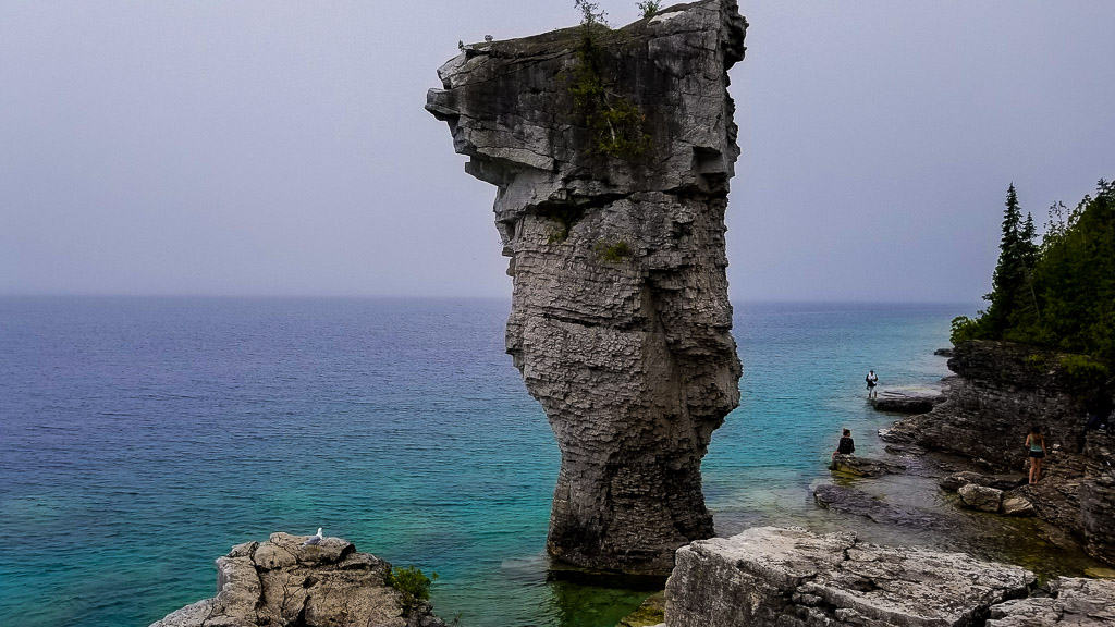 Tobermory and Bruce Peninsula National Park is one of the most beautiful places in Canada