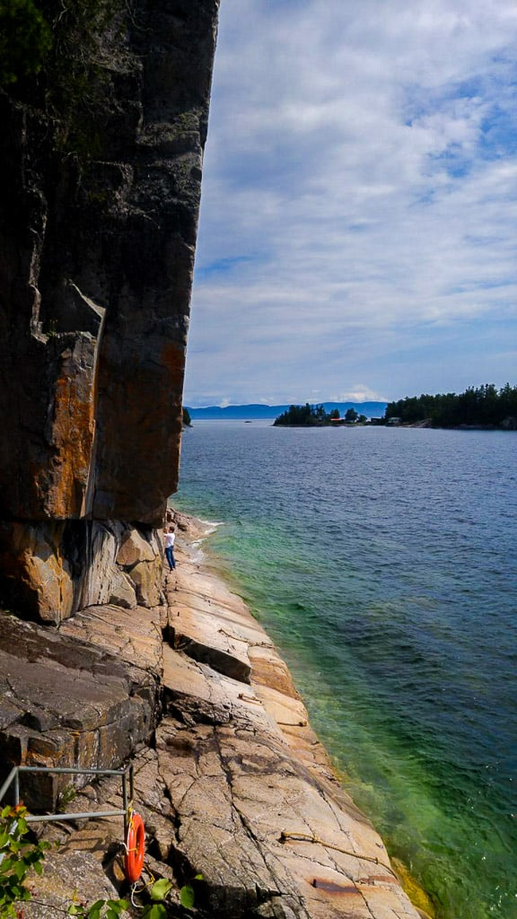 The Ancient Petroglyphs in Lake Superior Provincial Park is one of the most beautiful places in Canada