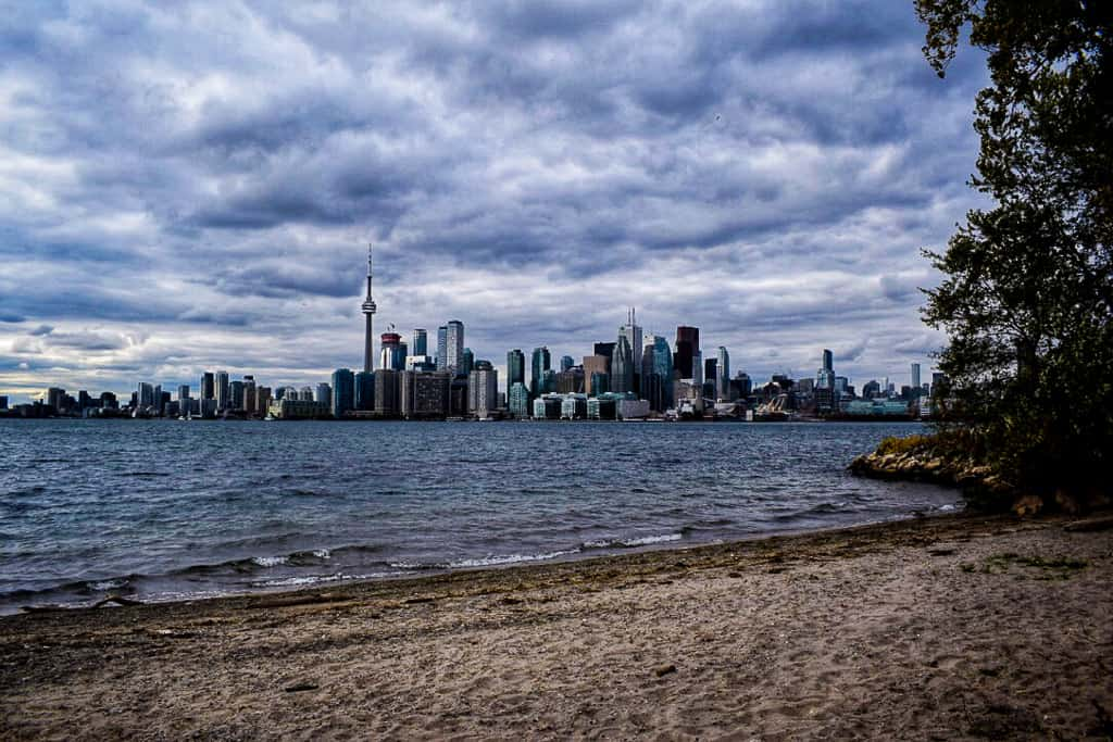 The Toronto Islands is one of the most beautiful places in Canada