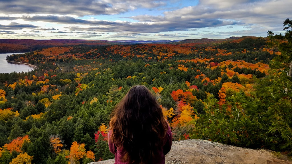 Hiking Algonquin Park is one of the things to do in Ontario this fall