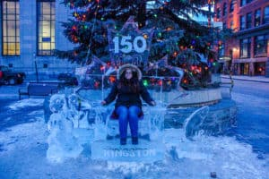 Visiting Feb Fest in Kingston is one of the things to do in Ontario this winter