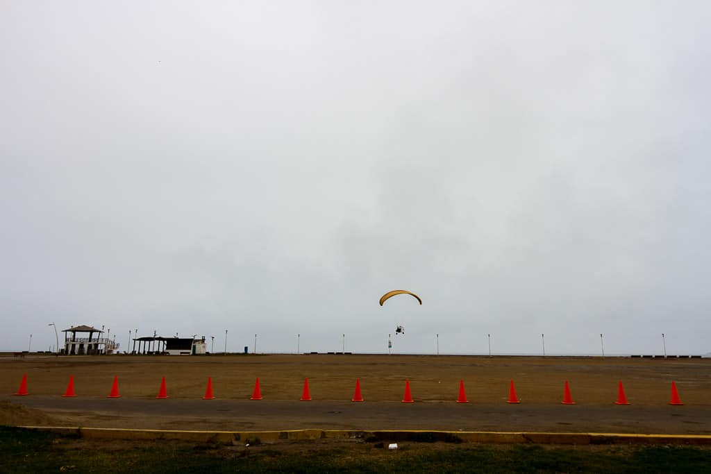 Paragliding is one of the things to do in Miraflores