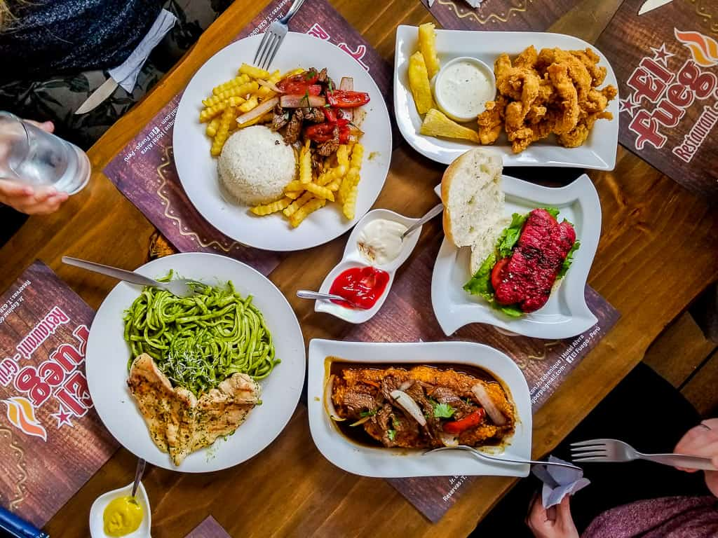 Eating at restaurants is one of the things to do in Miraflores