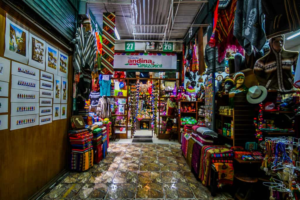 Shopping at the Indian Market is one of the things to do during two days in Lima
