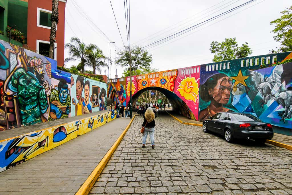 Exploring Barranco is one of the things to do during two days in Lima