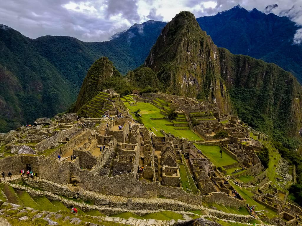 Seeing Machu Picchu in person was one of the top travel moments of 2018