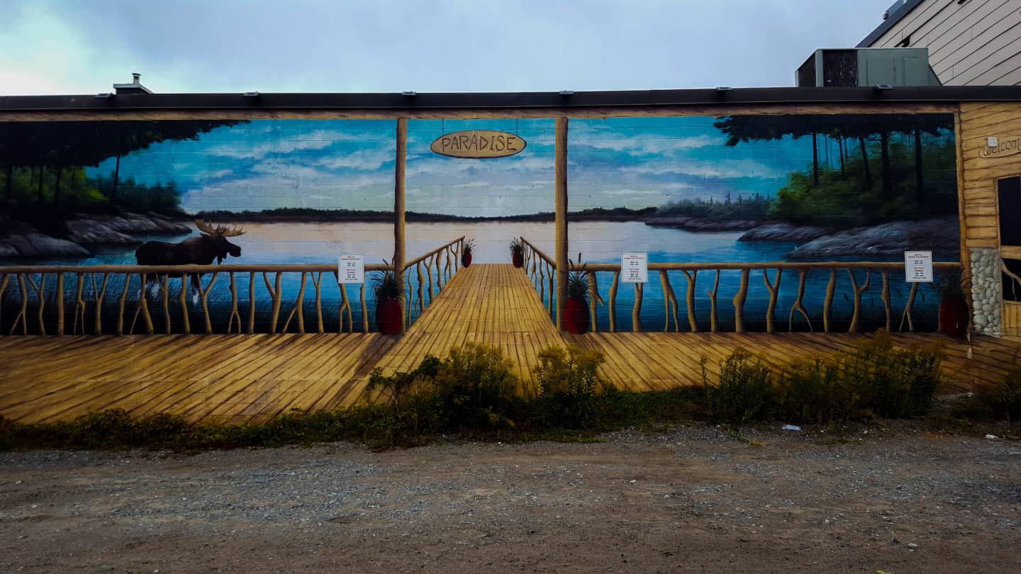 Seeing some murals is one of the things to do in Sudbury
