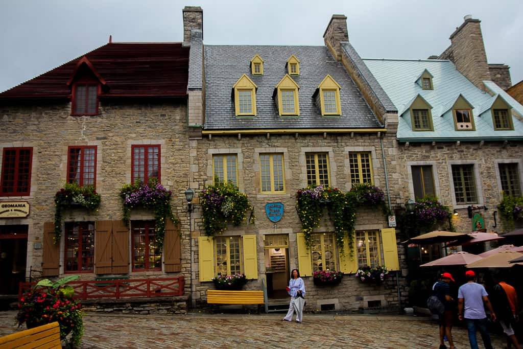 Finally visiting Quebec City was one of the top travel moments of 2018