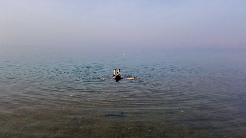Floating in the Dead Sea was one of the top travel moments of 2018