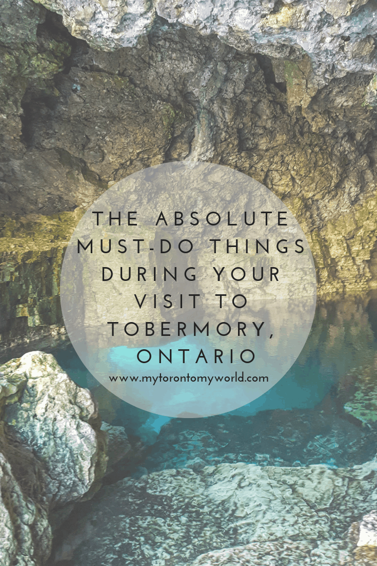 The giant guide of things to do during your visit to the stunning Tobermory, Ontario on the Bruce Peninsula