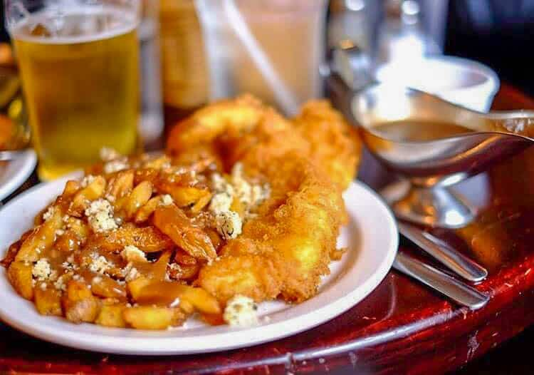 Fish and Chips is one of the traditional Canadian foods you have to try