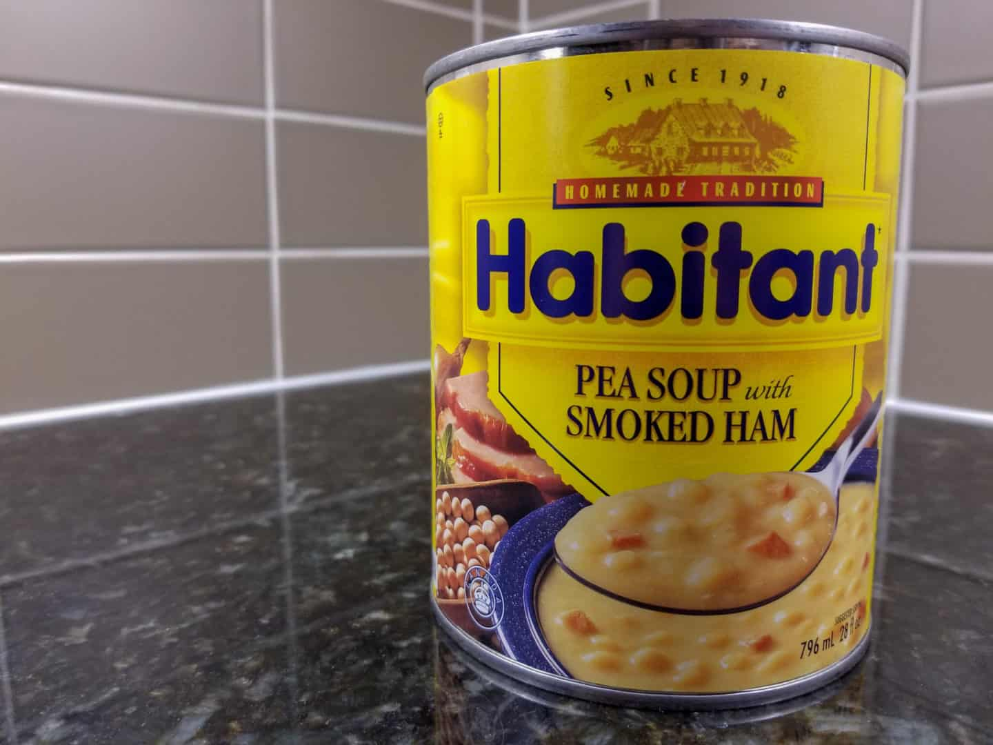 Habitant Split Pea Soup is one of the traditional Canadian foods you have to try